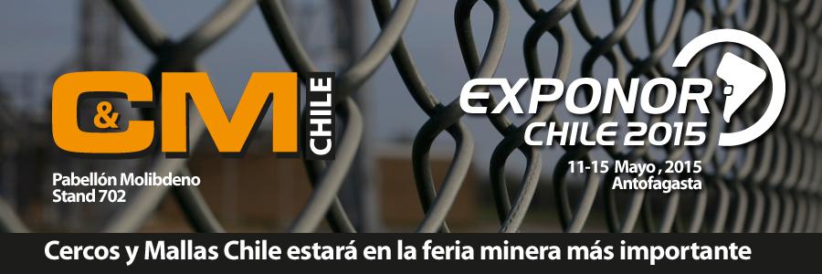 Cercos y Mallas en Exponor 2015